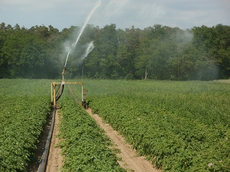 sprinkler irrigation in nigeria